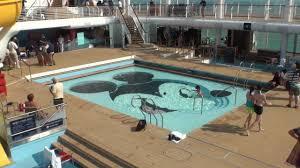 Disney Fantasy Deck Plan 11 by Disney Dream Pools U0026 Deck Area Youtube