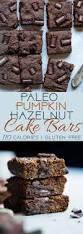 Healthy Chocolate Pumpkin Desserts by Hazelnut Paleo Pumpkin Cake Bars