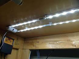 led versus fluorescent cabinet lighting vs xenon kit puck