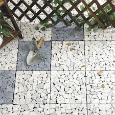 Cobblestone Tile China Garden And Patio Interlocking Outdoor Floor