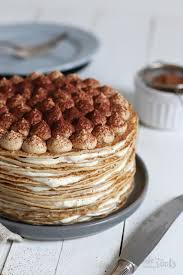 tiramisu crêpe torte