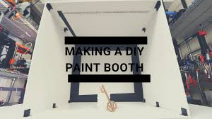 DIY Collapsible Paint Booth With Magnets!