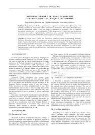 Java Decorator Pattern Reader by Advanced Python Techniques Decorators Pdf Download Available