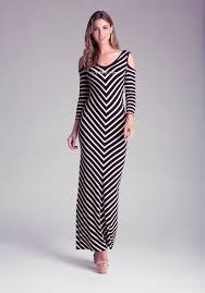 fashion trends strapless long size maxi dresses chevron
