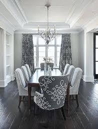 Modern Dining Room Curtains Inspirational Black And White Chairs Broken Geometric Pattern Carpet Of Cu