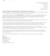 Cover Letter For Business Job Letters Email Formatting