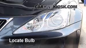 headlight change 2006 2014 lexus is250 2008 lexus is250 2 5l v6