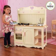 cuisine bois enfant kidkraft cuisine enfant prairie kidkraft en bois achat vente dinette