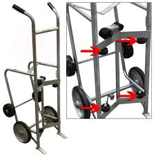 100 Drum Hand Truck Large Single RETAIL ACCESSORIES MATERIALS
