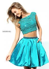 sherri hill 50555 two piece short dress rissyroos com