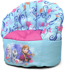 100 Kids Bean Bag Chairs Walmart Disney Frozen Mini Chair Blue Com