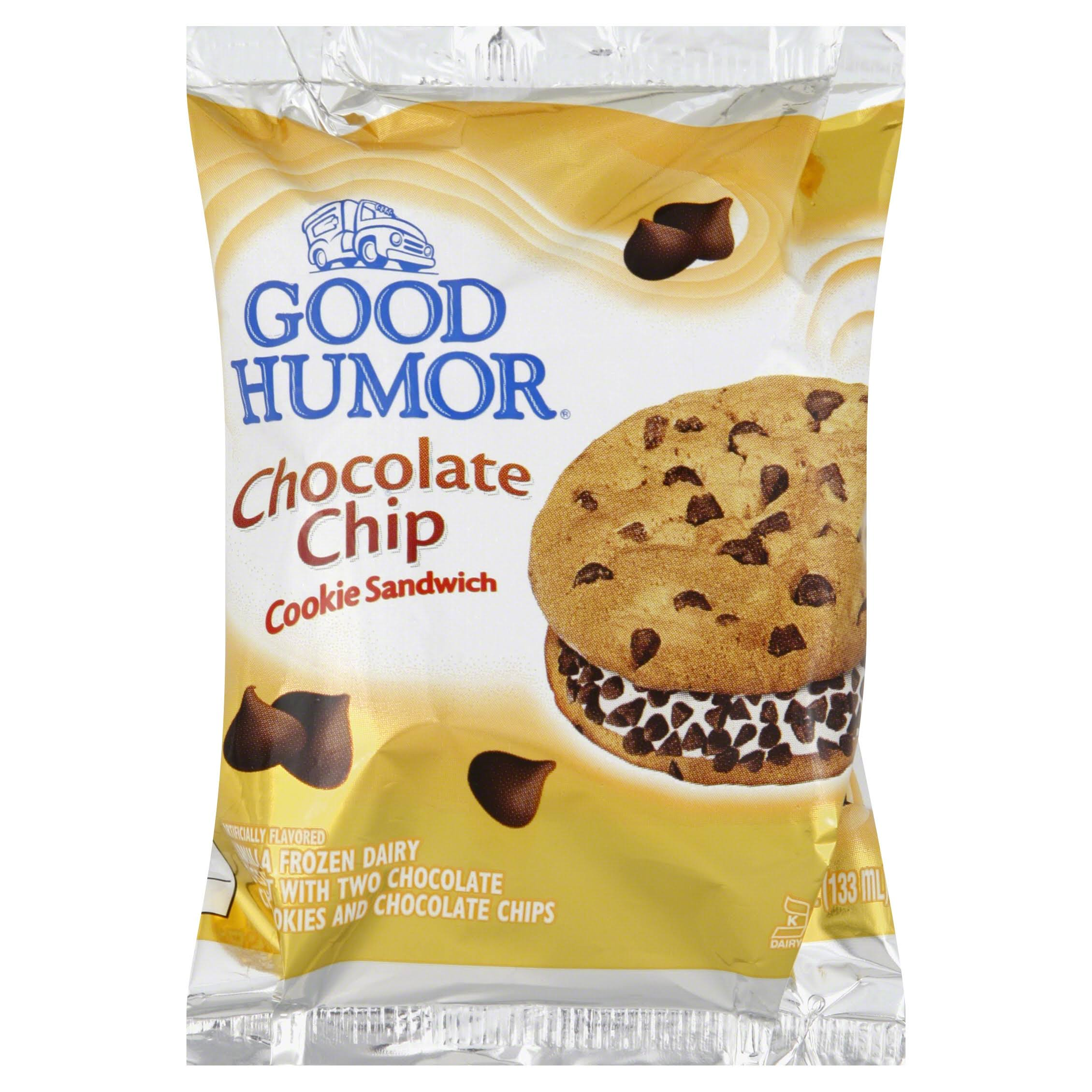 Good Humor Chocolate Chip Cookie Sandwich - 4.5oz