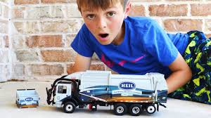 100 Trash Truck Videos For Kids Youtube Garbage Children L First Gear Heil Front Loader