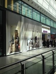 Empty Store Window Design Mock Shop