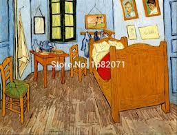 professionelle künstler reproduktion hoher qualität gogh vincents schlafzimmer in arles ölgemälde auf leinwand für hauptdekoratives