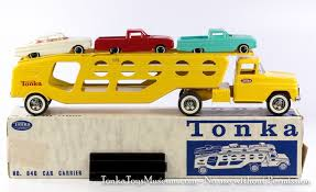 Original Tonka Toys Number 840 Boxed Auto Transport With Cars And ... My Best Top 6 Tonka Toys Inc Garbage Truck Police Car Ambulance Amazoncom Tonka Mighty Motorized Garbage Ffp Truck Games Buy Dump Online At Low Prices In India Amazonin Original Number 840 Boxed Auto Transport With Cars And Tonka Trucks Boys Fisher Price Train Toys Toy Truck Tikes Amazing Roadside Rescue Tow Hasbro 2003 Youtube Lot Of 2 Vintage Metal Toughest 1957 Aa Wrecker Tow Profit With John Toy Trucks For Kids Cstruction Vehicles Digging Mud Funrise Walmartcom Retro Classic Fun Stuff Pinterest Steel