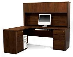 Furniture Small Glass Desk L Shaped Corner Table Metal Office Rustic Computer Black With Hutch I Large