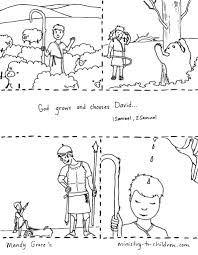 Coloring Printable Bible King Pages 137 With David Becomes Page