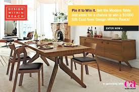 Design Within Reach Dining Room Chairs Set The Modern Table With Enter To