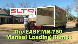 100 Truck Loading Ramps SLT MR750 Manual Ramp Ease Of Installation Super Lawn S