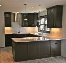 Kitchens With Dark Cabinets And Light Countertops by Kitchen What Color Cabinets With Dark Wood Floors Dark Cabinets