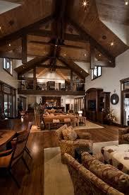 River Bend Ranch Rustic Living Room