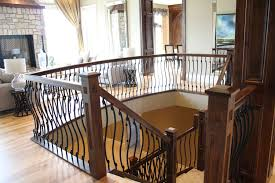 Wood Stair Railing Design Pictures — John Robinson House Decor Remodelaholic Updating An Oak Stair Or Handrail To White And Walnut Rustic Wood Stair Railings Light Wood Staircase Best 25 Painted Banister Ideas On Pinterest Banister Remodel Top Ten Makeovers Link Party Railing Modern Neutral Wooden With Minimalist Steel Railing Bannister Banisters 12 Best Stairs Images Stairs Custom Interior Simple Also Rustic