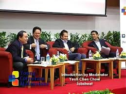 100 Chen Chow Young Corporate Malaysians 2009 Introduction By Yeoh ModeratorJobstreet