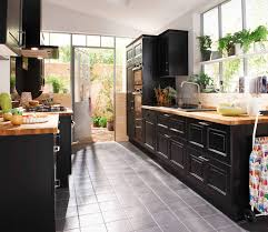 configurer cuisine cuisine authentique modèle bistro noir vieilli http lapeyre fr