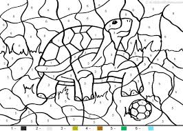 Color By Number Coloring Pages Animals Drawing At Free For Personal Use Best Happy Aquarium Month