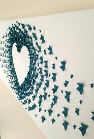 Butterflies Wall Decor Decorating The Walls Of Paper Nursery