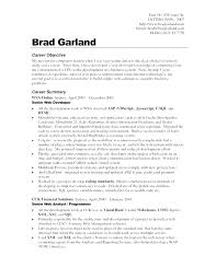 Resume Templates Objectives Professional Objective Resumes Samples Sample General Here Are