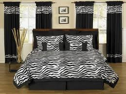 Zebra Print Decorating Ideas Bedroom Decor Black And White For Home Interior Design Style