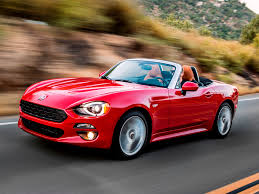 2017 Fiat 124 Spider First Review And Pricing | Kelley Blue Book