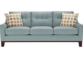 Cindy Crawford Denim Sofa by Hm Richards Furniture