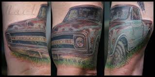 100 Truck Tattoo Color Realistic By Richard Hart NOW