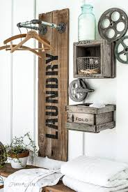 80 Rustic Laundry Room Decor Ideas