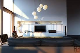 24 hanging lights in living room modern semi chrome mirror