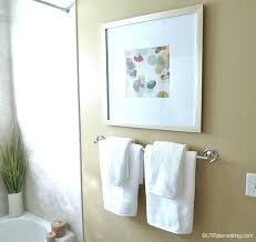 Decorative Towels For Bathroom Ideas by Hanging Decorative Towels In Bathroombathroom Towel Ideas