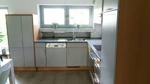 einbauküche e geräte küche buche l form gebraucht niederkrüchten
