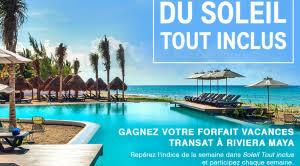 vacance air transat forfait canal evasion air transat riviera hotel paradise