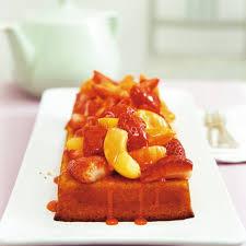 grieß mandel kuchen mit erdbeeren und aprikosen rezept