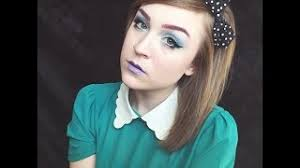 Melanie Martinez Carousel Inspired Makeup