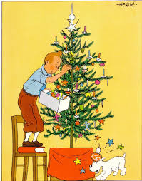 Christmas Tree Books Pinterest by Tintin Said Previous Pinner U2022 Tintin Adorns A Christmas Tree With