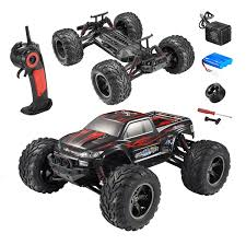 100 Off Road Remote Control Trucks FMT 112 IPX4 Scale Electric RC Car Road 24Ghz 2WD High Speed 33