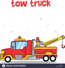 100 Tow Truck Vector Cartoon Tow Truck Vector Art Stock Art Illustration