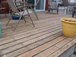 Wood Decking Boards by Flip Your Old Deck Boards Before Shelling Out For A New Deck