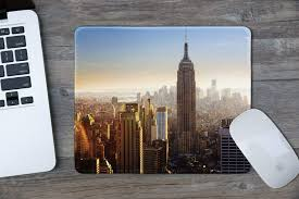 100 New York Pad Amazoncom DealzEpic Art Mousepad Natural Rubber Mouse