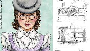 The United States Got A New Paper Bag When Cotton Mill Worker Named Margaret Knight Created Machine To Make Square Bottom Bags Back In 1868
