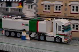 MOC: Shell Tanker - LEGO Town - Eurobricks Forums